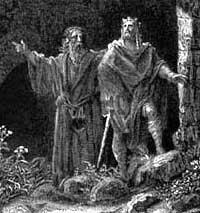 King Arthur and MerlinKing Arthur And Merlin
